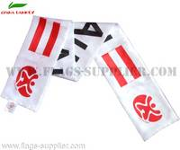 Sell Wholesale Cheap Polyester Football Scarf Austria