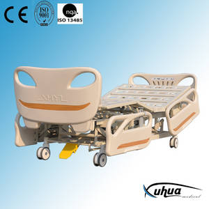 Wholesale electric bed: Five Functions Electric Hospital Bed