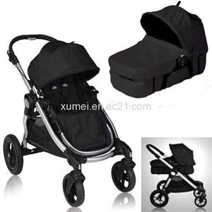 Wholesale baby: Baby Jogger 2012 City Select Stroller and Bassinet in Onyx