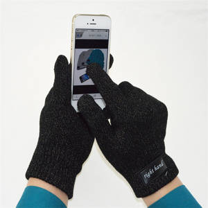 Wholesale woven label custom: Supply Winter Answer the Phone and Full Touch Screen Bluetooth Gloves