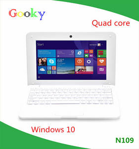 Wholesale netbooks: Big Promotion!!! Low Price Mini Laptop 10inch Quad Core WINDOWS10 Very Slim Wifi Netbook