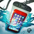 Hot Sell Waterproof Cell Phone Cases with Plastic Lock,Mobile Phone PVC Waterproof Dry Bag