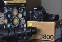 (NIKONS)D800 36.3 MP Digital SLR Camera - with VR Lens