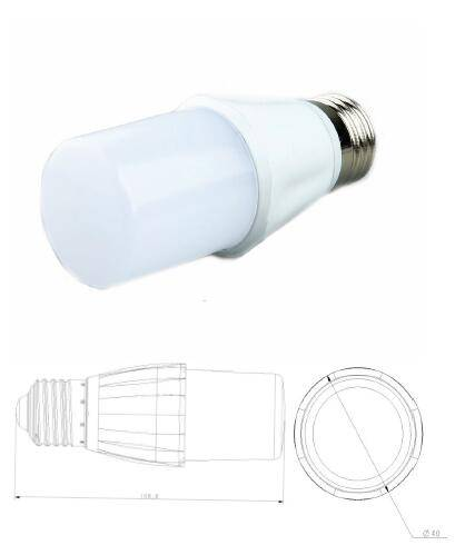 led bulbs: Sell 2017 best sales 6.8watt LED T-shaped bulb with 3 year warranty reasonable s