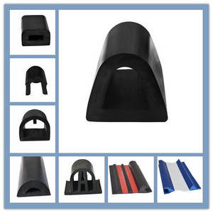 Wholesale soft pvc strip: D or Shaped Pier Fender and Ship Scuff
