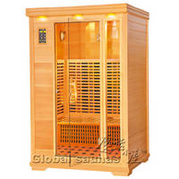 Sell infrared sauna room for 2 person (KN-002B)