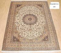 High Quality Traditional Persian Design Handmade Silk Wall Hanging Tapestry