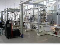 Sell Servo-motor Control Baby Diaper Machine   TZH-NK500