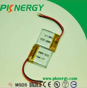 Wholesale bluetooth: Lithium Polymer Batteries 3.7V 110mAh 302323 AA Lipo Rechargeable Battery for Bluetooth