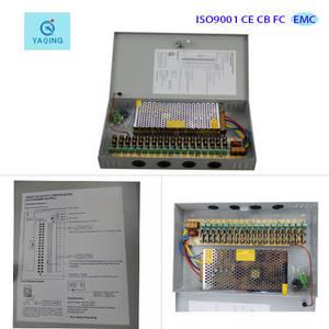 Wholesale box cameras: 12V 10A Power Supplies Box for 18 CH CCTV Security Camera