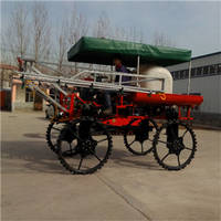 Four Wheel High Clearance Self-Propelled Boom Sprayer with Engine 2