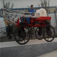 Four Wheel High Clearance Self-Propelled Boom Sprayer with Engine 3