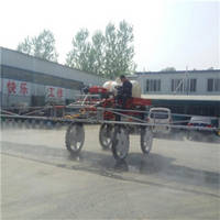 Four Wheel High Clearance Self-Propelled Boom Sprayer with Engine 4