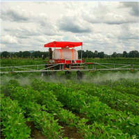 Four Wheel High Clearance Self-Propelled Boom Sprayer with Engine