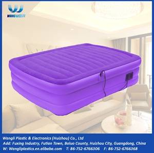 Wholesale i beam standard size in mm.: Popular Air Mattress High Quality New Double Inflatable Mattress