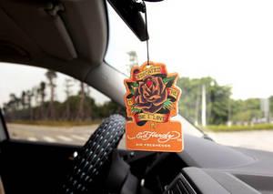 Wholesale car air freshener: Customized Hanging Car Air Freshener, Printed Paper Perfume