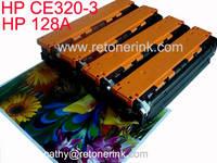 HP Color Toner Cartridge CE320 128A HP CE320 128A