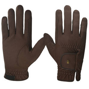 Wholesale leather glove: 2017 New Design Riding Horse Gloves Leather Racing Gloves for Horse