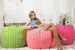 Wholesale chair cover: Waterdrop Beanbag Chair Cover Home Furniture From Factory