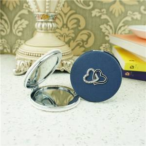 Wholesale makeup mirror: PU Compact Mirror/Fancy Compact Mirror Folded Makeup