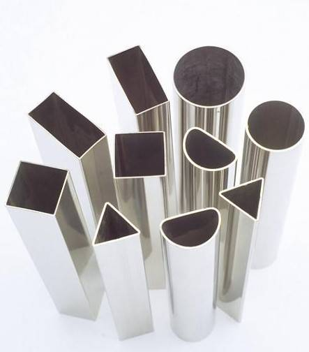 Sell aluminum alloy tubes in round triangle oval shape id