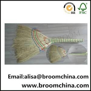 Wholesale Brooms & Dustpans: Wholesale Short Handle Natural Fiber Sweeping Broom
