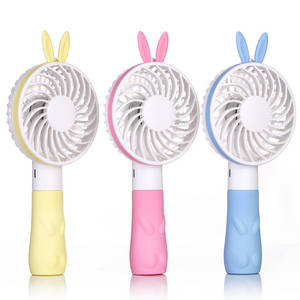Wholesale cooling fan: Shenzhen Plastic Battery Power Portable Cooling Travel Handy USB Rechargeable Small Mini Fan