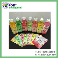 Yori Plastic Bottles PET Shrink Label