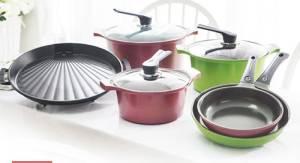 Wholesale Dutch Ovens & Casserole Dishes: ECORAMIC Aluminum Diecast Ceramic Coated Saucepot. Casserole