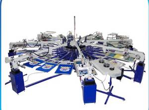 Wholesale screen printing machine: CE Approved High Precision Screen Printing Machine From China