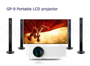 Wholesale support 3D: Mini LED Projector HDMI 1080P HD Portable LCD Technology AV, USB, VGA, SD, Support 3D Movie