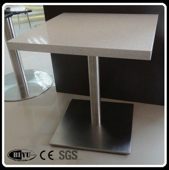 Quartz dining table stone top dining tables from for Quartz top dining table