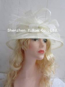 Wholesale bridal dress: YRSM14079Sinamay Hat, Church Hat, Occasion Hat, Wedding Hat,Bridal Hat,Kentucky Derby Hat,Race Hat