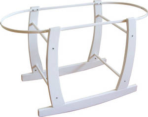 Wholesale Nursery Furniture & Decor: Wooden Moses Basket Rocking Stands