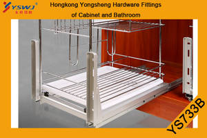 Wholesale drawer runners: Heavy Duty Drawer Runner for Basket YS733A/B