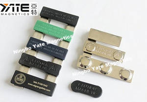 Wholesale Badge Holder & Accessories: Magnetic Name Badge, Name Badge
