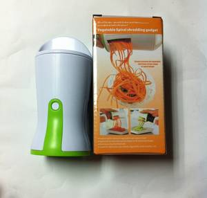 Wholesale Food Cutters & Slicers: Spiral Slicer Vegetable Spiralizer Zucchini Spiralizer Detachable 3-Blade