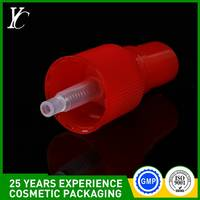 PP White Sprayer Nozzle Fine Mist Spray Pump with Pipe and Cap 18/410,20/410,24/410