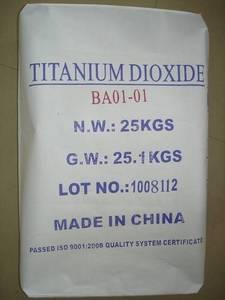 Wholesale manganese sulphate price: Titanium Dioxide BA01-01