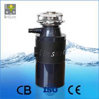 Sell Plating Red Stainless Steel Sink Food Waste Disposal