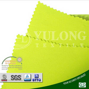 Wholesale custom nylon jacket: Wholesale From China Factory EN20471 High Color Fastness Soft Fluorescent Light Reflective Fabric Fo