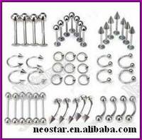 Sell sell body piercing jewelry