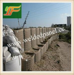 Wholesale mil army military hesco: UK Standard MIL Army Military Galvanized Defensive Hesco Barrier Gabion Retaining Wall