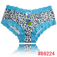 Stock Lady Panties Hot Leopard Cotton Underwear