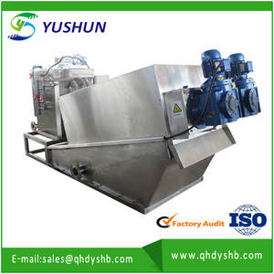 Wholesale Water Treatment: Automatic Wastewater Sludge Screw Dewatering Press Equipment Manufacturer