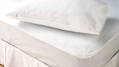 pillow case: Sell Waterproof Terry Pillow Protectors (Anti Bed Bug Cover)
