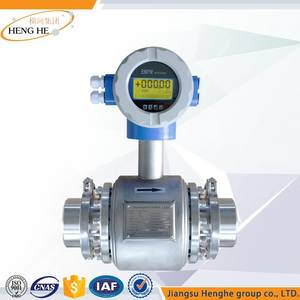 Wholesale health food: Health Type Electromagnetic Flowmeter for Food& Pharmaceutical Industry
