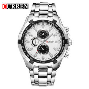 Wholesale fashion watch: Wholesale High Quality Curren Men's Watch Fashion Men's Waist Watch
