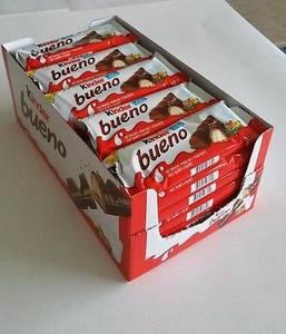 Wholesale chocolate: Ferrero Kinder Bueno Chocolate Bars