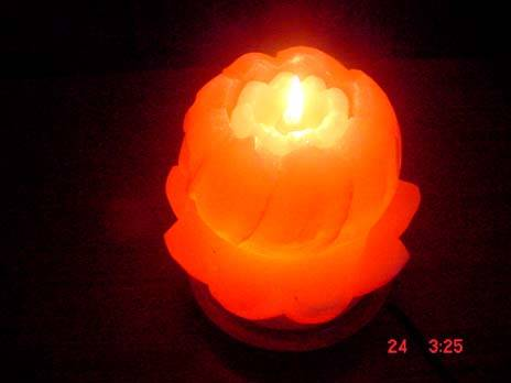 Znz Salt Lamps : Salt Bowl Lamphimalayan Crystal Rock Salt Fire Bowl Lamps Starline - touch table lamp